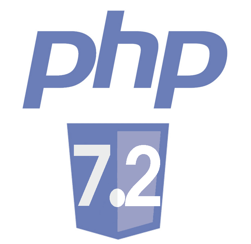 Support de PHP 7.2